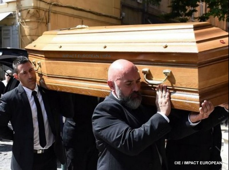 Funerals of the ex sport selector Henri Michel took place Friday, April 27 in Aix en Provence