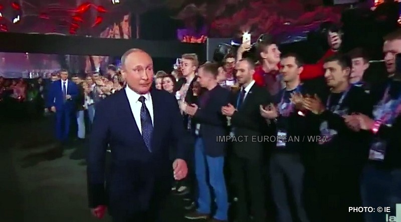 Vladimir Poutine was triumphantly re-elected for a fourth mandate