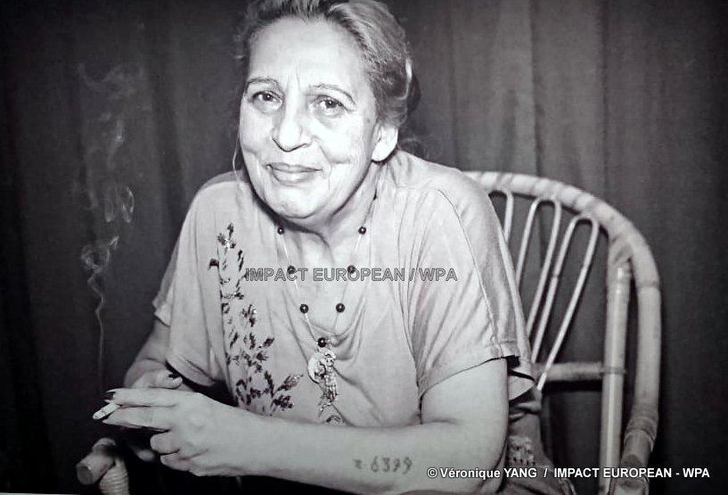 Ceija Stojka, painter rom survivor of the camps