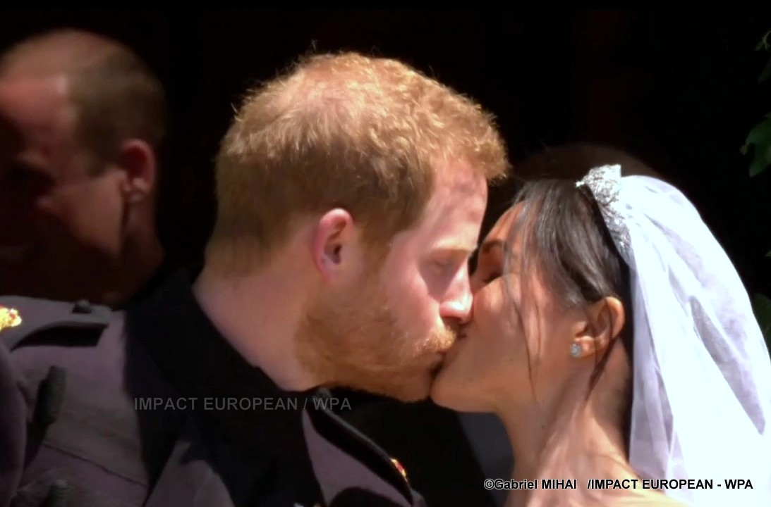 St. George's Chapel and the sun are set ablaze with the marriage of the duke of Sussex – Prince Harry and Meghan Markle