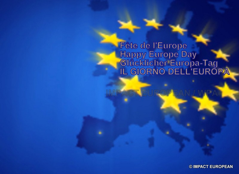 The 68ème birthday of the day of Europe will be celebrated on May 9th