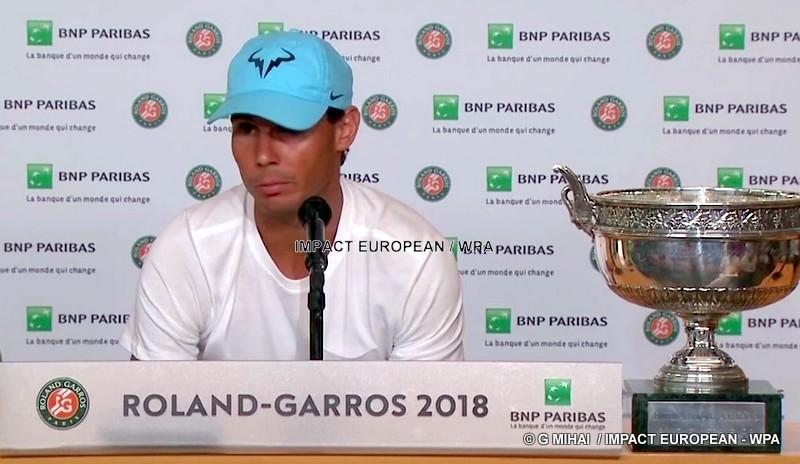 Roland Garros 2018: Rafael Nadal wins his eleventh trophy
