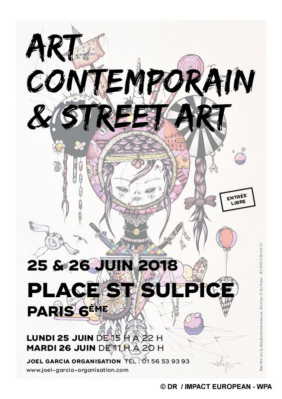 Living room of Art Contemporain and Street Art: When the classicism gives appointment to the art of today