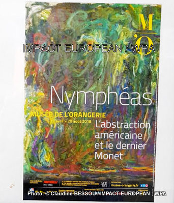 Exposure Nymphea: the American abstraction and the last Monet