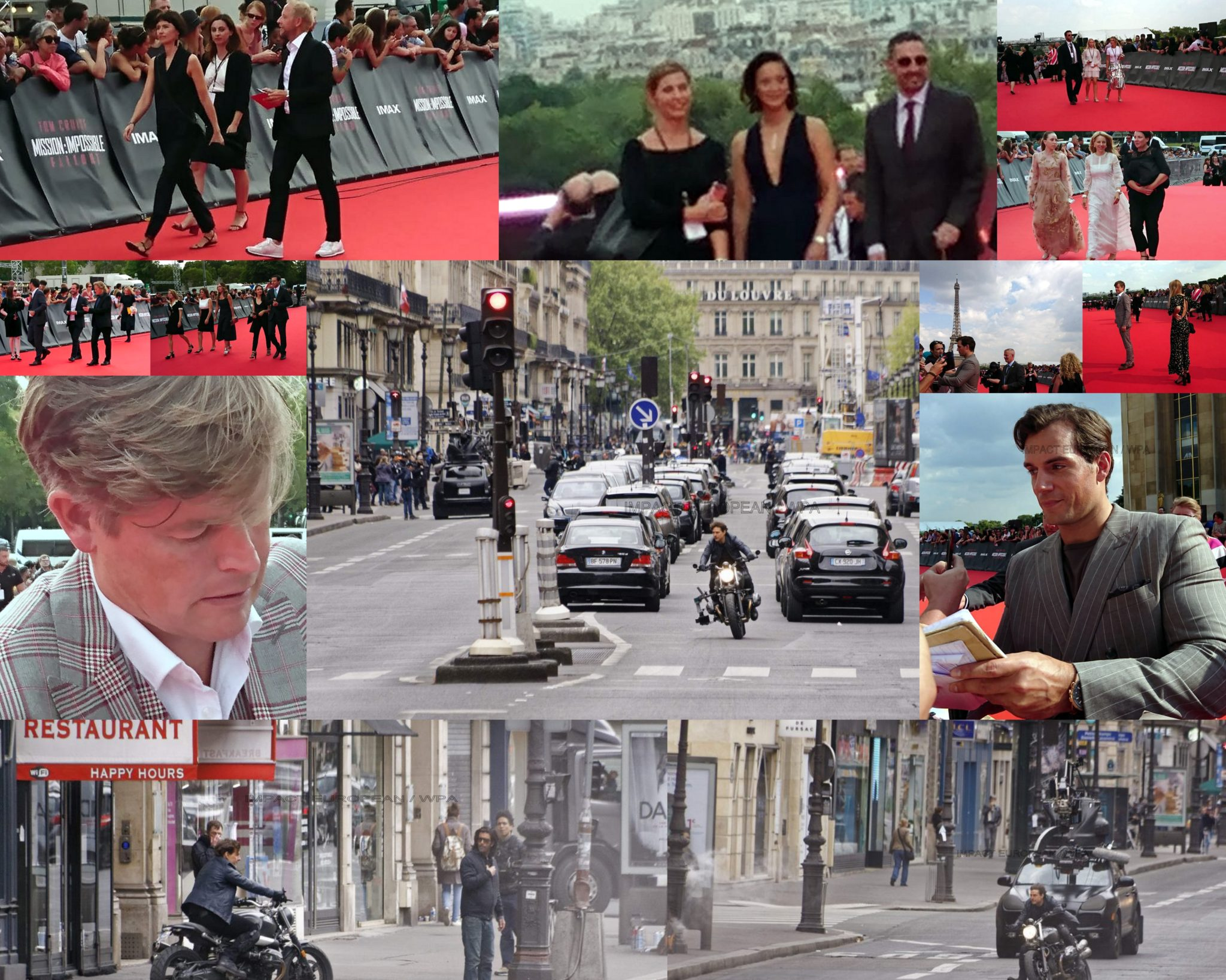 To make beat the heart of Paris east far from being a mission impossible for Tom Cruise