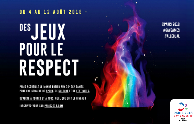 Opening of the 10th edition of the Gay Games on August 1st in Paris