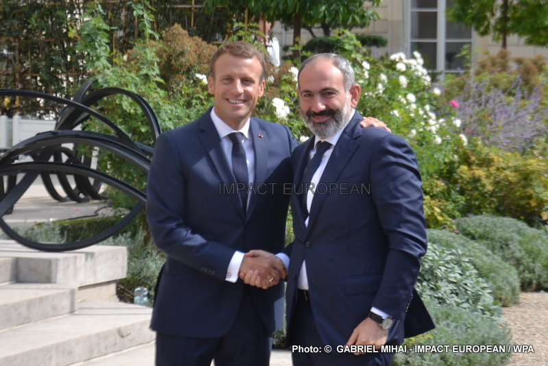 Nikol Pachinian was received by Emmanuel Macron, the Armenian community in France and MEDEF