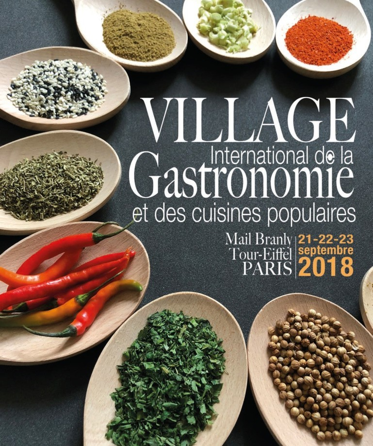 The International Village of the Gastronomy: a prestigious activity development in an imposing decoration