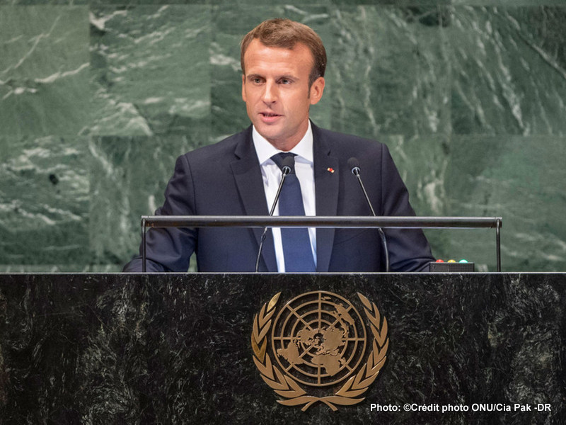 UNO: Macron is not any more agreement with the president of the United States