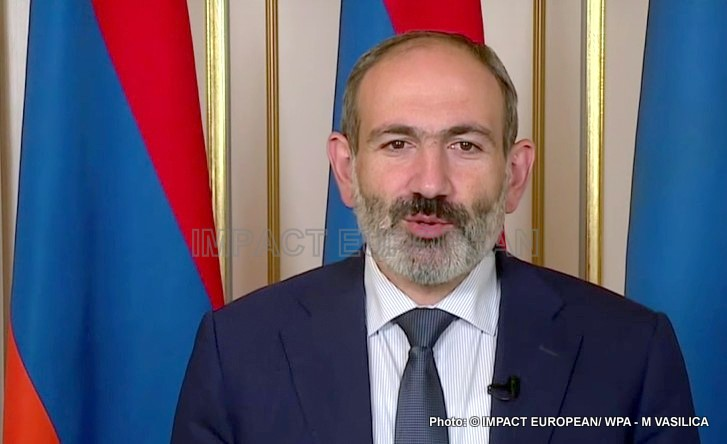 Prime Minister Nikol Pachinian has resigned