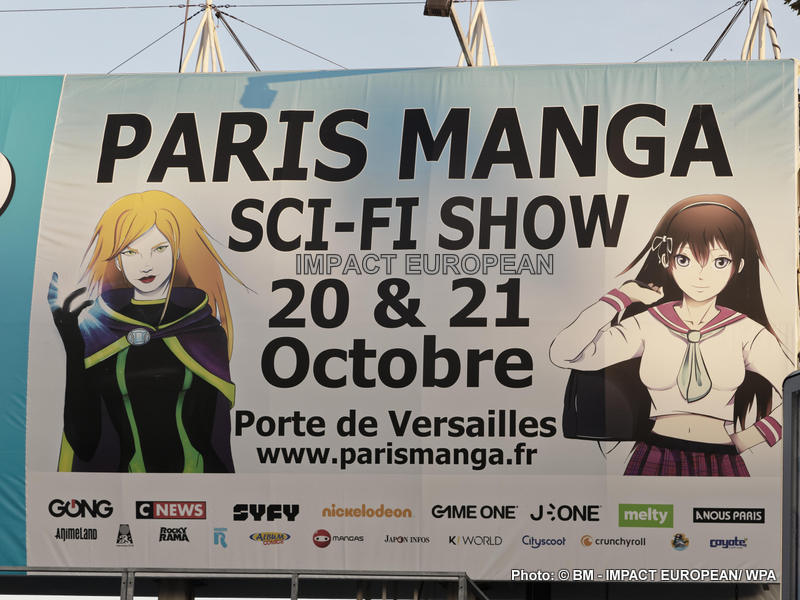 Geeks and Otakus convened in Paris Manga – Sci-Fi