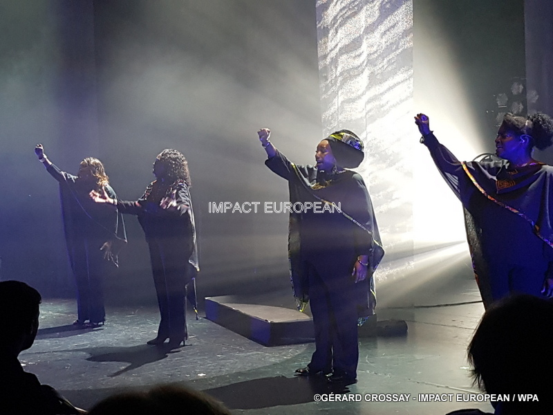 The Black Voices show at the 13th Art, the new theater of the Place d'italie