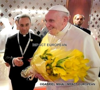 Imam Hassen Chalghoumi speaks about the visit of the pope with Abu Dhabi