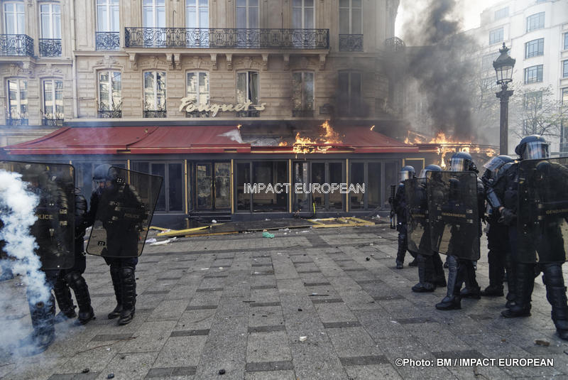 Yellow Vests: violence has returned to the streets of the capital
